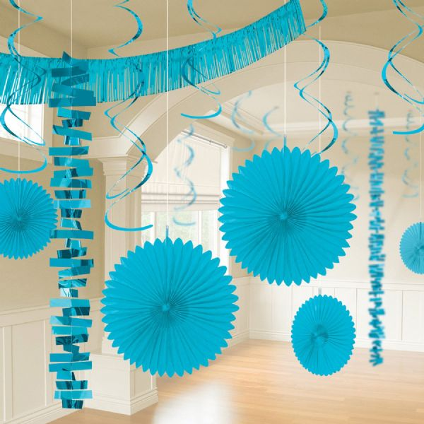 Caribbean Blue Room Decoration Kit (18)